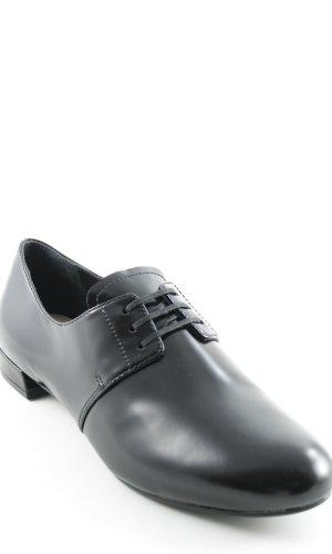 Prada Lace Shoes black Brit look