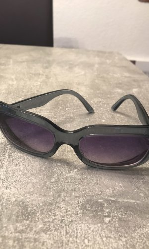 Prada Oval Sunglasses petrol-purple