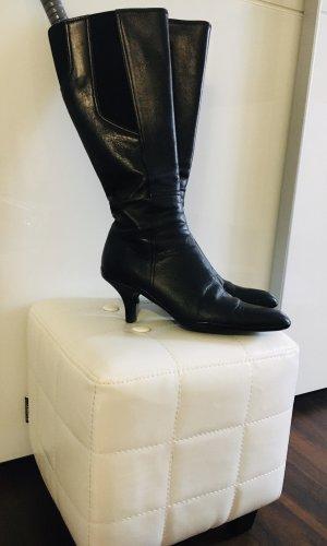 Prada Heel Boots black