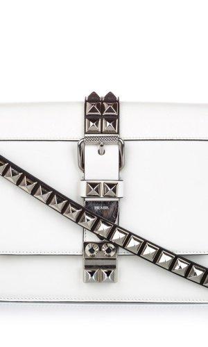 Prada Studded Leather Elektra