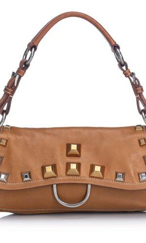 Prada Shoulder Bag brown leather