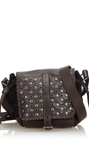 Prada Studded Nylon Crossbody Bag