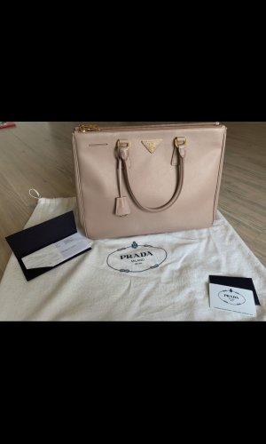Prada Handbag pink-gold-colored leather