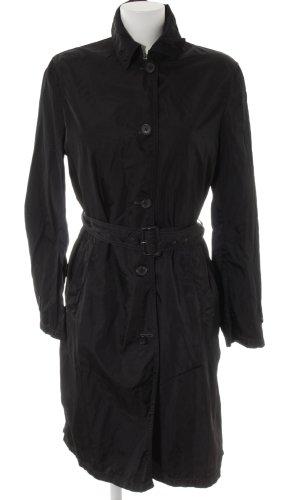 Prada Trench Coat black business style