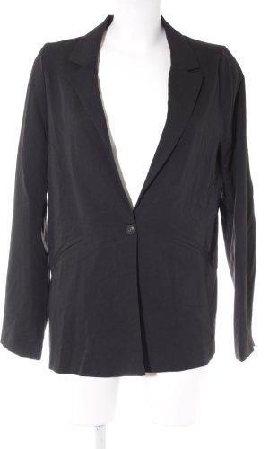 Pull & Bear Kurz-Blazer schwarz Business-Look