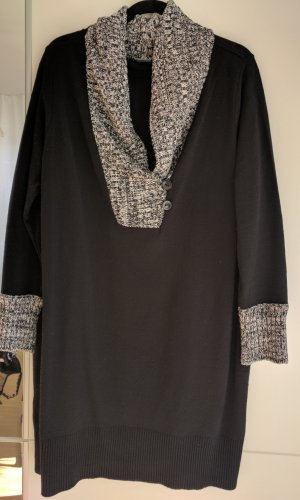 b.p.c. Bonprix Collection Sweaterjurk zwart