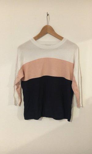 Only Sweater met korte mouwen veelkleurig