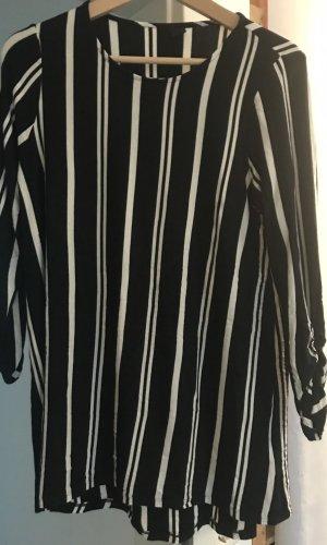 Vero Moda Sweater met korte mouwen zwart-wit
