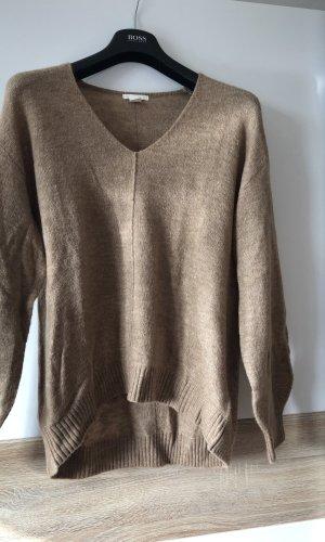 H&M Sweaterjurk beige-camel