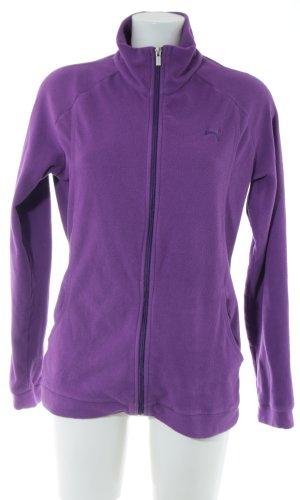 Puma Veste sweat violet style décontracté
