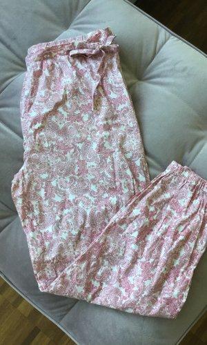 Janina Pijama rosa-blanco