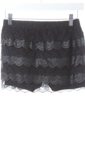 Queguapa Jupes-culottes noir Look de plage