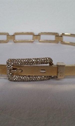 Ralph Lauren Cinturón de cadena color oro