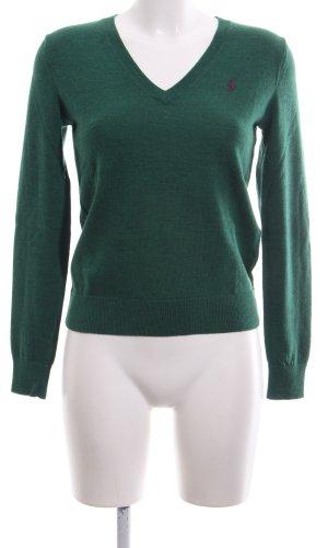 Ralph Lauren Sport Feinstrickpullunder grün Casual-Look