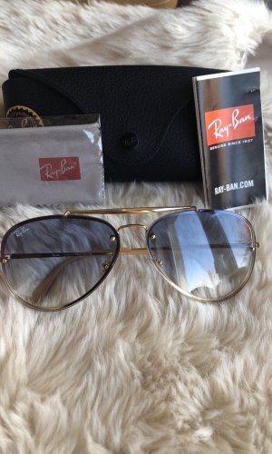 Ray Ban Gafas color oro-azul