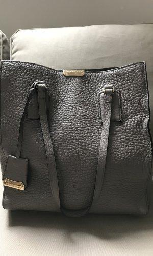 Burberry Shopper Tasche Modell  Burhan in grau taupe