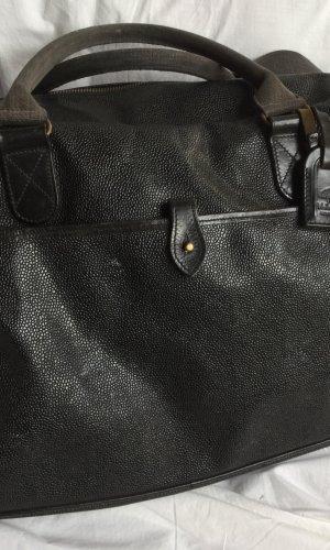 Mulberry Bolso de viaje negro Cuero