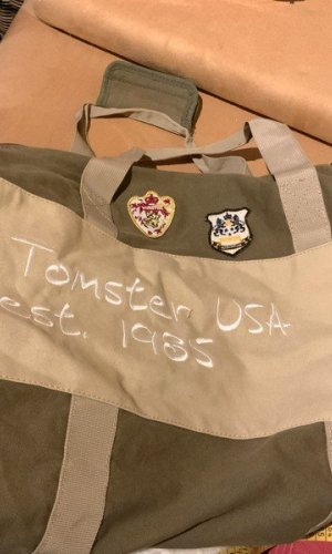 Tomster USA Weekender Bag multicolored