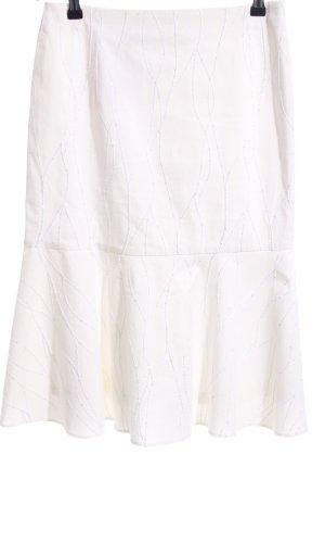 Renate Harvan Volanten rok wit casual uitstraling