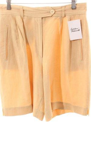 René Lezard Jupes-culottes beige clair style décontracté