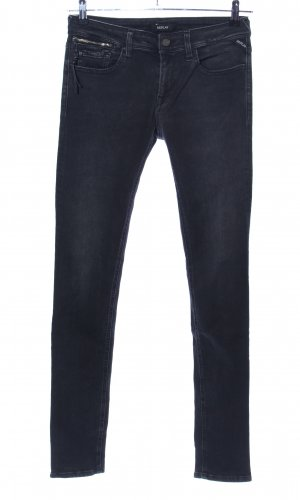 Replay Skinny Jeans black casual look