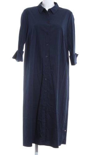 robe légère by Vera Mont Robe chemise bleu foncé style décontracté