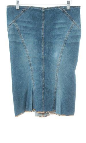 Roberto Cavalli Spijkerrok blauw casual uitstraling