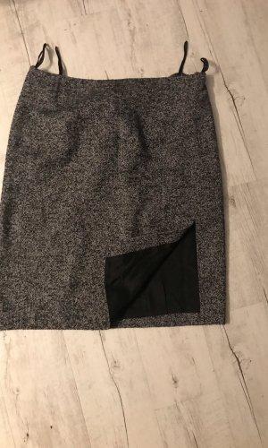 Aust Wollen rok grijs-zwart
