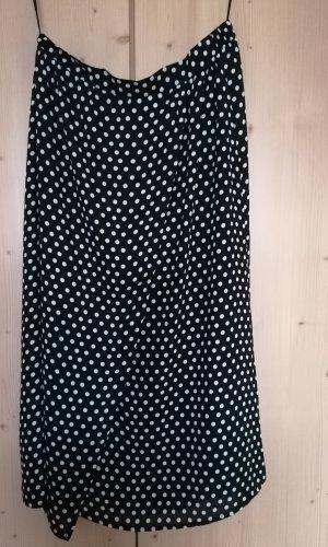 Rainbow Wikkelrok zwart-wit Polyester
