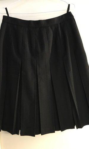 Madeleine Jupe à plis noir