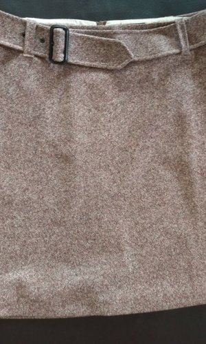 Strenesse Wollen rok roségoud-grijs