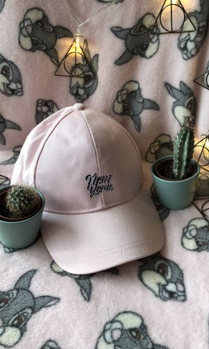 Tally Weijl Casquette plate or rose-blanc