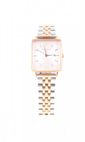 ROSEFIELD Reloj con pulsera metálica color plata-color oro estilo «business»