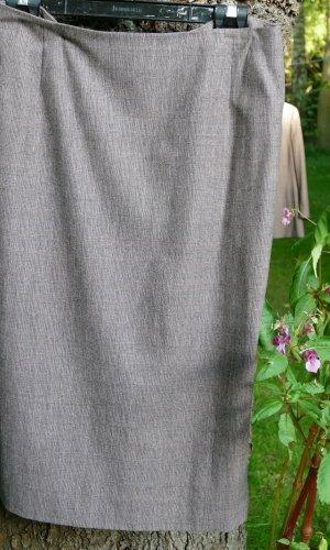 Joseph Janard Wollen rok roodbruin-zwart Scheerwol