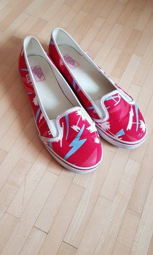 Rote Slip-On Vans in Gr. 39