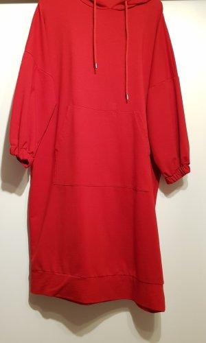 Sweaterjurk rood