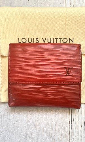 Roter Louis Vuitton Multi Geldbörsen