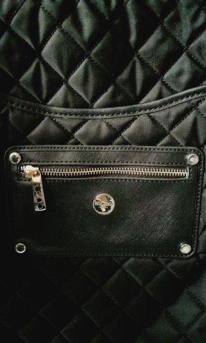 KNOMO London Sac à dos pour ordinateur portable noir-magenta