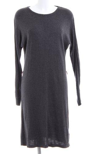 s.Oliver Sweaterjurk zwart gestippeld casual uitstraling