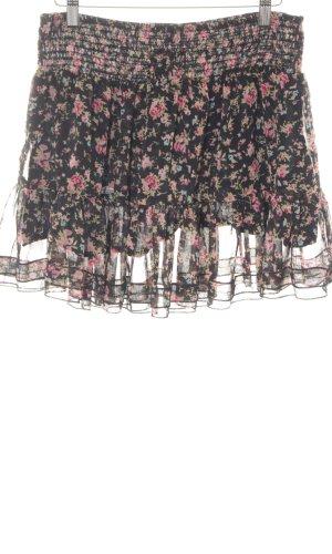 s.Oliver Volanten rok bloemenprint straat-mode uitstraling