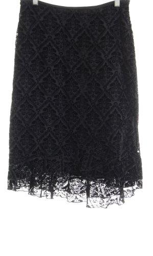 s.Oliver Volanten rok zwart elegant