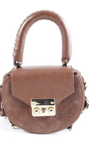 Salar Milano Fringed Bag black brown-brown Boho look