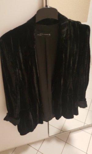 Zara Woman Lange blazer zwart