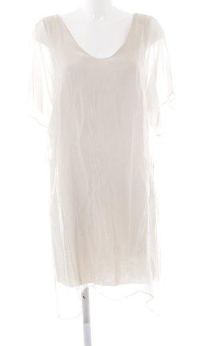 Sarah Abendkleid hellbeige klassischer Stil