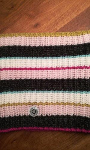 Codello Écharpe ronde multicolore tissu mixte