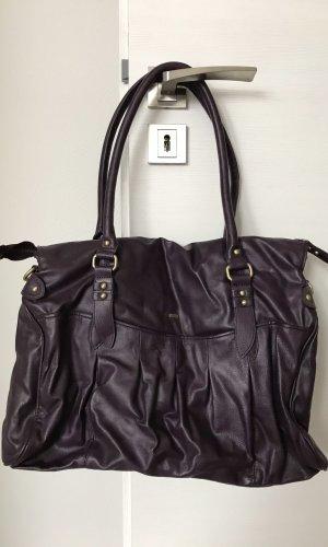 s.Oliver Comprador violeta oscuro Imitación de cuero