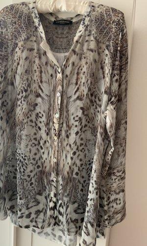 Schiffhauer Lange blouse veelkleurig