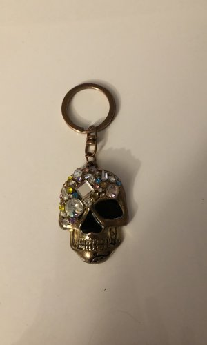 Key Chain black-silver-colored