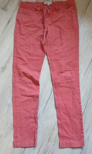 Eight2Nine Pantalón elástico salmón