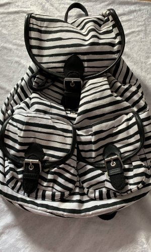 H&M Sports Bag white-black